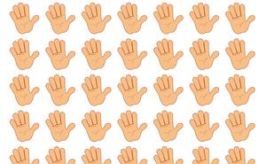 Thách thức thị giác 5 giây: Đố bạn tìm ra một bàn tay khác biệt trong tranh