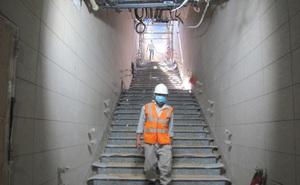 Hình ảnh cận cảnh đầu tiên về nhà ga Ba Son dưới lòng đất