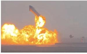 Vì sao tên lửa SpaceX được cho là hạ cánh thành công dù phát nổ sau đó 8 phút?