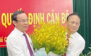 Ông Trần Văn Nam giữ chức Bí thư huyện Bình Chánh