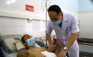 Nam thanh niên vỡ gan, vỡ dạ dày vì tai nạn giao thông