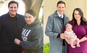 """Cặp đôi """"quá khổ"""" không thể có con suốt 7 năm, quyết giảm 190kg để chờ đón điều kỳ diệu"""