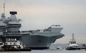 Tàu chiến Mỹ gia nhập hạm đội Hải quân Anh thăm nhiều nước