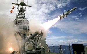 """Tên lửa Harpoon – """"sát thủ diệt hạm"""" uy lực của Hải quân Mỹ"""