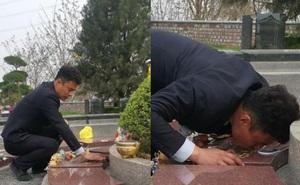 Con gái 8 tuổi qua đời vì ung thư, ông bố trẻ xin đến nghĩa trang làm việc để được hôn lên bia mộ của con mỗi ngày khiến ai nấy khóc nghẹn