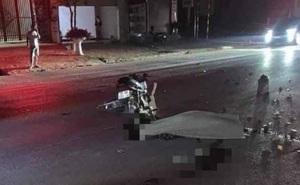 Xe máy va chạm giao thông trên Quốc lộ 6, 4 người thương vong