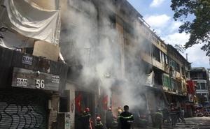 Vụ cháy dãy nhà ở trung tâm Sài Gòn: 4 người nhập viện cấp cứu