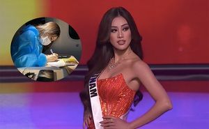 """Khánh Vân bị bỏng và chia sẻ gây xúc động trước chung kết """"Hoa hậu Hoàn vũ Thế giới"""""""