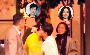 Angela Baby vừa tiết lộ bị Lưu Gia Linh 'ngó lơ', cánh săn ảnh lại tóm được Huỳnh Hiểu Minh thân thiết đi ăn tối cùng bà xã Lương Triều Vỹ