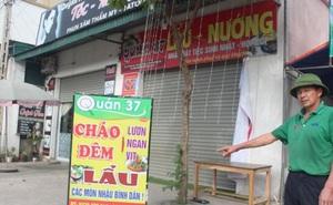 Treo biển quảng cáo, nam thanh niên bị điện giật tử vong