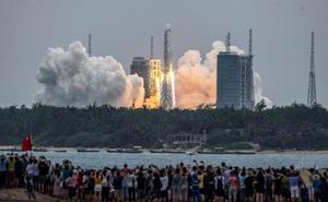 Không quân Mỹ dự đoán địa điểm rơi của lõi tên lửa Trung Quốc: Có thể an tâm hay chưa?