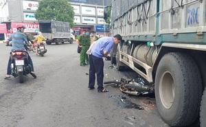 Một học sinh lớp 12 tử vong sau va chạm giữa xe tải và xe máy