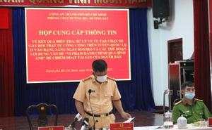 """Tạm giữ 15 """"quái xế"""" chặn Quốc lộ 22 để đua xe ở Sài Gòn"""