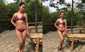 Phương Linh diện bikini khoe vóc dáng gợi cảm