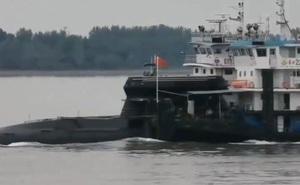 Người chơi TikTok hé lộ thứ có vẻ là tàu ngầm mới nhất của hải quân Trung Quốc