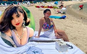 """""""Biểu tượng sexy màn ảnh Việt"""" Y Phụng lộ vẻ đẫy đà tuổi 42"""