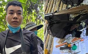 Dựng lán trại, trang bị vũ khí nóng trong rừng sâu để bán ma tuý