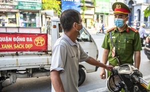 """Số tiền xử phạt vi phạm hành chính """"khủng"""" sau hơn 1 tuần Hà Nội thực hiện giãn cách xã hội"""