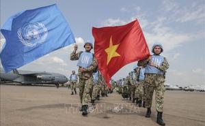 Việt Nam tham gia gìn giữ hòa bình là bước phát triển mới trong hội nhập quốc phòng