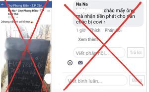 """Xử phạt cô gái 21 tuổi lên facebook """"trù ẻo cán bộ mắc Covid-19"""""""