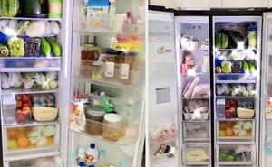 Cô gái khoe chiếc tủ lạnh đúng chuẩn 'đại gia' mùa dịch: Giá sương sương gần '50 củ', đồ ăn chất đầy như cái chợ!