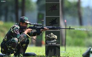 Khoảnh khắc 'Xạ thủ bắn tỉa' Việt Nam xuất sắc dẫn đầu ở Army Games 2021