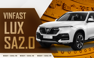 VinFast Lux SA2.0 có thứ khiến phần đầu nát bét mà khoang lái vẫn 'vô sự', chất Việt trên xe còn ấn tượng hơn!