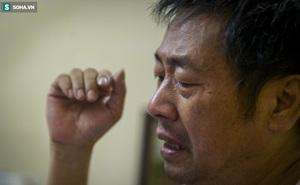 Người cha bật khóc trên sóng truyền hình: 'Tôi khóc do quá xúc động chứ không phải để xin điện thoại'
