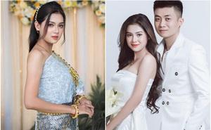 """Đi """"thả thính"""" dạo, hotgirl Khmer được chàng trai Hà Nội đón về làm vợ, cưng chiều như công chúa"""
