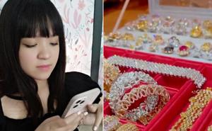 Bà trùm Đại Nam khoe cận cảnh 'mâm kim cương' của ái nữ, tiết lộ loại 5 - 10 carat không thèm đeo!