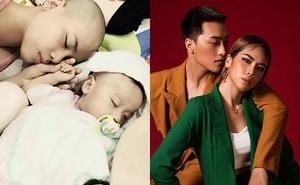 Xuân Thảo bật khóc kể chuyện con 1 tháng tuổi ngưng tim, cạo đầu mong con khỏe mạnh