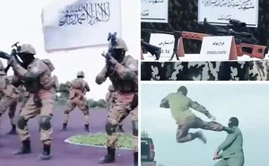 Taliban phô diễn vũ khí đáng sợ lấy được từ quân đội Mỹ
