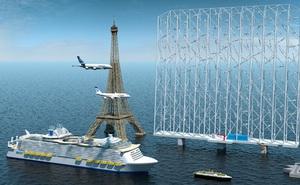 Cao ngang tháp Eiffel với 126 cánh quạt, hệ thống turbine điện gió mới sắp làm nên cuộc cách mạng ngành năng lượng tái tạo