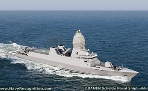 """Hà Lan """"trình làng"""" phiên bản tàu hộ tống tàng hình SIGMA mới"""