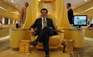 """Hoàng tử Ả rập và """"thú"""" tiêu tiền dị nhất thế giới"""