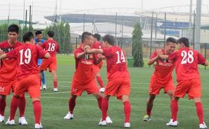 Chùm ảnh: Đột nhập phòng tập thể lực của U23 Việt Nam