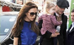 """Beckham """"phát sốt"""" vì thân hình cò hương của vợ"""