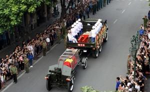 Chuyến hàng vận chuyển đặc biệt nhất trong Quốc tang Đại tướng