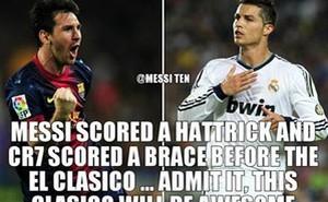 Ảnh chế: Mệt Messi, nản Cris Ronaldo