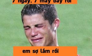 """Sợ """"dính chưởng"""", Ronaldo đòi bỏ áo số 7"""