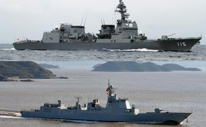 Khu trục hạm Type 052D TQ có chiếm ưu thế trước Akizuki Nhật Bản?