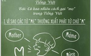 """Bạn biết được bao nhiêu cách gọi """"Mẹ"""" trong tiếng Việt?"""