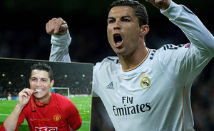 Ronaldo bỗng nhớ... Man United sau khi giành QBV
