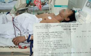 Nam bệnh nhân tử vong, giấy ra viện ghi biến chứng thai nghén