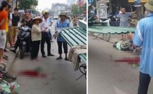 Khởi tố, bắt tạm giam lái xe xích lô vụ bé trai bị tôn cứa cổ gây tử vong ở Hà Nội