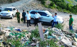 Lại phát hiện bãi rác thải nghi của Formosa đổ trái phép