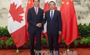 """Canada """"thận trọng"""" đón chào Thủ tướng Trung Quốc"""