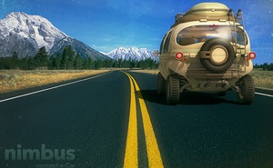 Đây là chiếc xe bus đầu tiên trên thế giới không chạy bằng xăng, đi được trên mọi địa hình