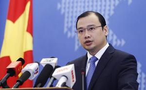 Việt Nam phản đối Trung Quốc triển khai vũ khí lên 7 đảo nhân tạo ở Biển Đông