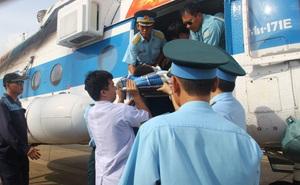 Bay 2.000km đưa bệnh nhân từ Trường Sa về TP.HCM cấp cứu